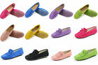 US 5-8 Suede penny fringed Slip On loafer Women ballet flat Shoes moccasin