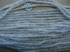 """Rainbow moonstone beads14"""" choice of round, rondelles, rice, coin, drops, brick"""