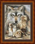 COMPANIONS -  14 COUNT CROSS STITCH CHART (DMC THREADS) FREE PP WORLDWIDE