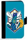 CHARLOTTE HORNETS SAMSUNG GALAXY iPHONE CELL PHONE CASE LEATHER COVER WALLET