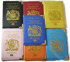 UK and European Passport Holder PU Leather Protector Cover Wallet United Kingdom