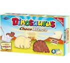 Artiach Cookies DINOSAURUS  White Milk Chocolate Snacks 4 x Sachets BEST VALUE