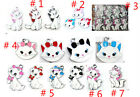 New Lot Disney cartoon Cat Charms pendants DIY Jewellery Making crafts kids gift