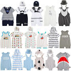 "Vaenait Newborn Infant Short Outfits Bodysuit Romper ""Summer baby boy set"" 6-24M"