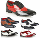 MENS BROGUE SHOES ITALIAN CLASSIC DESIGNER PARTY FORMAL CASUAL BOYS SHOES SIZE