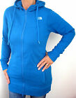 The North Face Women Parka Technical Hoodie long Sweatjacke brilliant blue S-XL