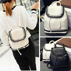Women's Cute Mini Small Faux Leather Backpack Rucksack Purse Gift Casual Travel