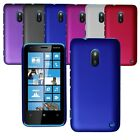 For Nokia Lumia 620 Slim Hybrid Hard Case Clip On Back Cover & Screen Protector
