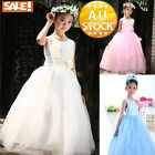 Prom Wedding Christening Dress Age2-12 Formal GIRLS Party Bridesmaid Princess