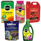 MIRACLE-GRO PLANT FOOD RANGE GARDEN PLANTS POTS FERTILISER + TOMATO CROP FEED