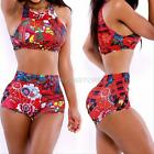 New Women Lady Swimwear Bikini Set Bandeau Push-Up Padded Bra Swimsuit Beachwear