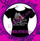 Standing On His Word - High Heel Shoe - Rhinestone Iron on Shirt - Bling Top