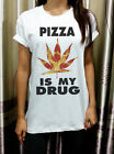Pizza Parody Dope Geek Summer Street Rocker Womens T Shirt Tshirt Short Sleeve
