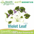 earthessence VIOLET LEAF ABSOLUTE  ~ CERTIFIED 100% PURE ESSENTIAL OIL.