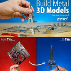 DIY Puzzle 3D Laser Cut Model Metal Jigsaw Toy Gift Eiffel Tower Titanic New BLS