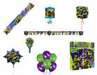 TEENAGE MUTANT NINJA TURTLE TMNT PARTY DECORATIONS