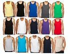 NEW Men's Plain T-Shirts Tank Top Muscle Gym Sleeveless Tee