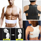 Adjustable Magnetic Therapy Back Support Brace Belt Posture Shoulder Corrector