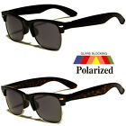 Polarized Clubmaster Sunglasses Men's Women's Vintage Designer Metal Half Frame
