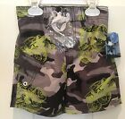 JOE BOXER, NWT Toddler SWIM SHORTS, UPF 50, Off rd CAMOFLOUGE,Mult​i SIZE, KM