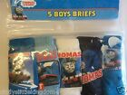 New Thomas & Friends boys 5 pack of briefs underwear