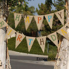 Rustic Vintage Wedding Mr & Mrs Hessian Jute Burlap Bunting Banner Photo Props
