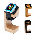 Crafted Wooden Docking Station Charger Stand For Apple Watch iWatch 38mm & 42mm
