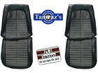 1971 GTO & LeMans Sport Front & Rear Seat Upholstery Covers PUI New