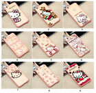 Cute Melody Hello Kitty TPU Clear Acrylic Case Cover for iPhone 6S 6/6S plus 5S