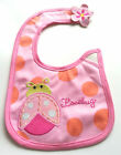 Carter's Newborn Baby Girl Pink Love Daddy Mommy Feeding Waterproof Cotton Bibs