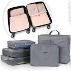 5Pc  Suitcase Set Luggage Baggage Packing Cubes Travel Lightweight Colour Choice