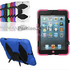 Kid Shockproof Laden Duty Rugged Hard Case Cross Stand For Apple iPad Mini 1 2 3