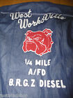 Diesel boy denim jacket XXL 15-16 y BNWT designer