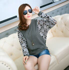 Currents Cotton Tops Leisure Tee T-Shirt Batwing Sleeve Blouses Loose Pullover