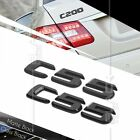 BLACK REAR BOOT TRUNK LETTER EMBLEM BADGE FOR W202 W203 C55 AMG SERIES STICK ON