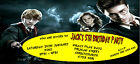 Personalised Childs Birthday Party invitations/invites ~ Harry Potter