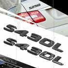 BLACK REAR BOOT TRUNK LETTER EMBLEM BADGE FOR W220 S CLASS S430L AMG STICK ON