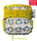 Close Parent Pop in Bamboo Single Printed Nappy V1 and New Gen V2 POLAR SEAL