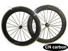 Alloy Brake surface 80mm Clincher carbon bicycle wheels R13 hub+424 spokes