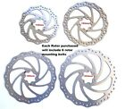 Stainless Steel  Disc Brake Rotors, 140mm, 160mm, 180mm, 203mm, incl bolts
