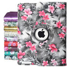 360 Rotating Flowers Case Smart Stand Cover For IPad 2/3/4 /AIR 1 2/MINI1/2/3