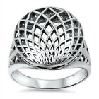 Sphere Wire Ring, 925 Silver, w FREE Box, Elegant, Casual, Durable, Exquisite