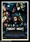 Fright Night 1985 Film Stretched Canvas Wall Art Horror Movie Poster Print