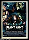 Fright Night 1985 Film Stretched Canvas Wall Art Horror Movie Poster Print 80s