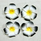12 60 120 Pcs Floating Frangipani Plumeria Hawaiian Flower Heads Wedding 7cm 9cm