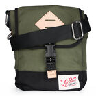 Mens Levis Crossbody Dull Green Bag