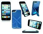 NEW LATEST DESIGN SLIM LEATHER STAND CASE COVER FOR APPLE I PHONE 5 5C 6 6 PLUS
