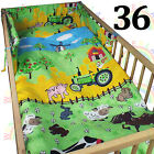 3 piece COT BEDDING SET boy girl nursery DUVET COVER PILLOW CASE BUMPER BABY <br/> ❤CHEAPEST ON EBAY❤buy 2 or more and GET 10% OFF❤3 SIZES