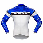 Sobike- NENK COOREE Blue White Cycling Long Jersey long Sleeves