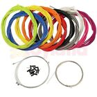 FULL SET BRAKE GEAR FRONT REAR INNER OUTER BIKE CABLES BICYCLE MOUNTAIN MTB ROAD